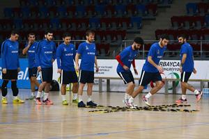 Yığmamız Latviya və Serbiya ilə oyunların hazırlığına başladı - FOTOSESSİYA